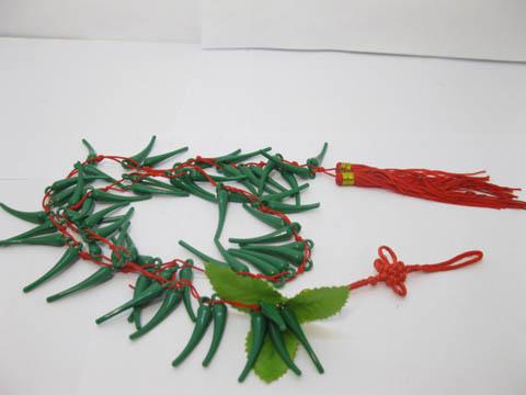 25strand artificial pepper chili home decor co ot ch395 10 00 imports