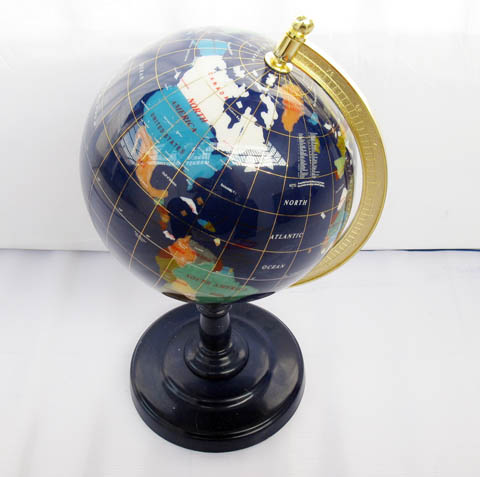 New 220mm gemstone desktop world globe earth map st ot11 product description gumiabroncs Choice Image