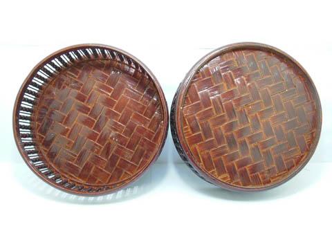 1x traditional chinese wedding basket 3 layers 22 5cm high aq c