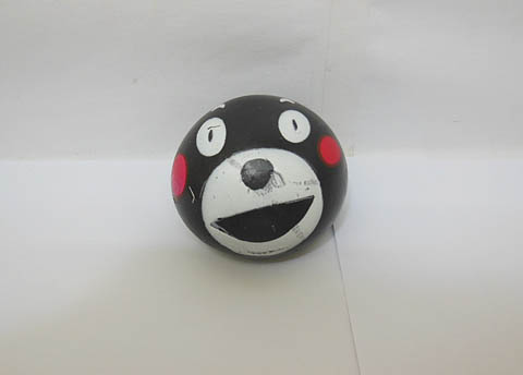 12 Funny Black Squishy Sticky Bear Head Venting Balls