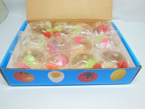 12 Funny Squishy Spikey Ball Sticky Venting Balls Mixed eBay