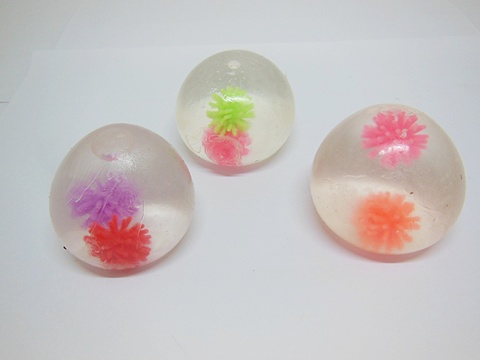 Squishy Spiky Ball : 12 Funny Squishy Spikey Ball Sticky Venting Balls Mixed eBay