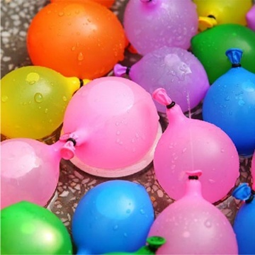 5x111Pcs Already Tied Fast Fill Magic Water Balloons Outdoor