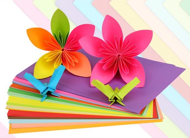 100pcs A4 Hand Paper Craft Diy Scrapbooking Origami Etc Handmade